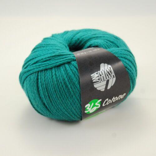 Lana Grossa 365 Cotone 50g Wolle verschiedene Farben