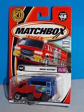 Matchbox 2002 Kids' Cars Of The Year Series #68 Snow Doctor w/ Movable Treads