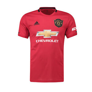quality design ff7e3 a8160 Details about Manchester United FC Official Football Gift Mens Home Kit  Shirt 2019/20