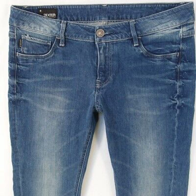 Chaussures femme G star dexter slinky super skinny stretch JEANS BLEU W31 W32 L32 Taille 12 | eBay