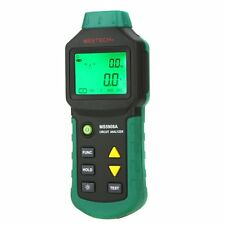 Mastech Ms5908a Lcd Circuit Analyzer With Voltage Gfci Rcd Tester