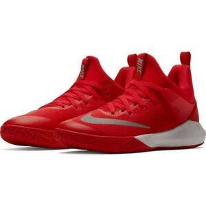 026becdfc4b5 MEN S NIKE ZOOM SHIFT TB BASKETBALL SHOES 897811-600 UNIV. RED SZ ...