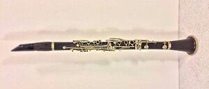 Antique H Freeman ébène Bois Clarinette New York Restauration Nécessaire-afficher Le Titre D'origine Peelb1ja-07163026-274159983
