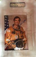 Robert Bob Crippen Signed Autographed Photo NASA Astronaut Space COA PSA/DNA