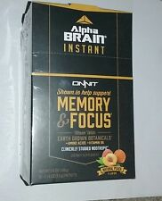 Buy Onnit Alpha Brain Instant Memory And Focus 30 Packets Online Ebay