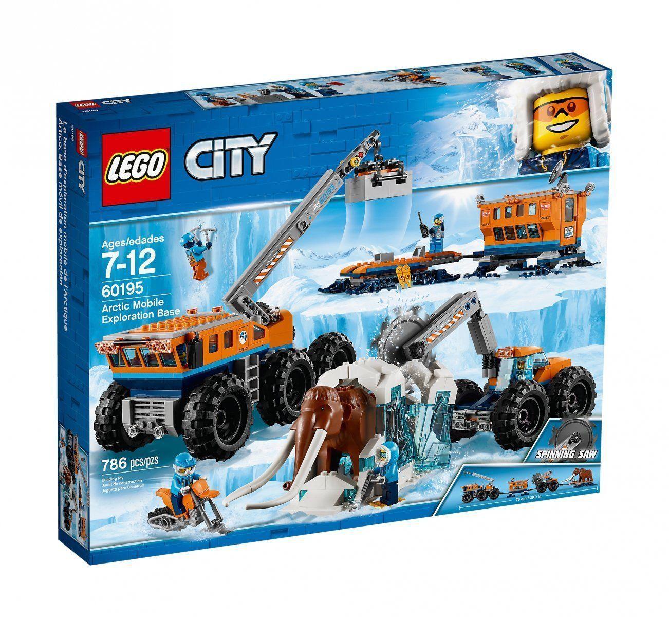 LEGO® City Arktis - 60195 Mobile Arktis-Forschungsstation ++ NEU & OVP ++