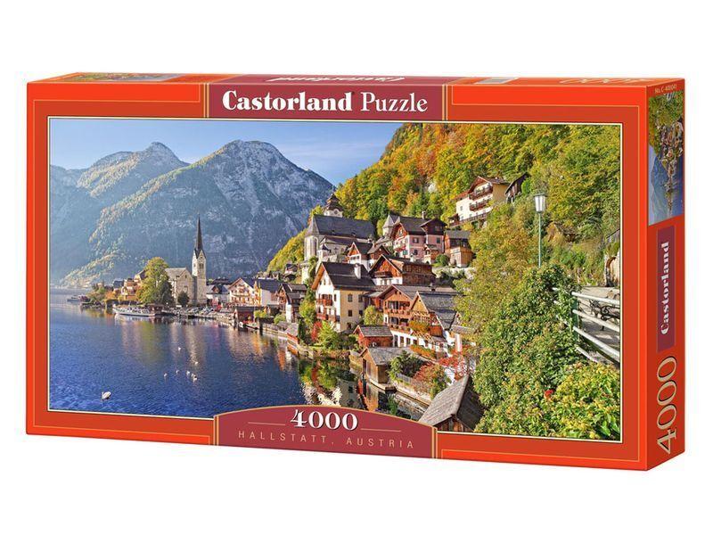Castorland Puzzle 4000 Pieces - Hallstatt, Austria - 54 x27  Sealed box C-400041
