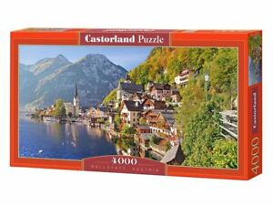 "Castorland Puzzle 4000 Pieces - Hallstatt, Austria - 54""x27"" Sealed box C-400041"