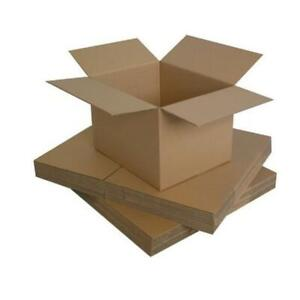 High Quality Single Wall Postal Mailing Cardboard Boxes Packaging In All Size CS