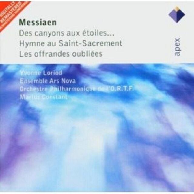 CONSTANT/ENSEMBLE ARS NOVA/+ - DES CANYONS AUX ETOILES 2 CD CHOR NEU MESSIAEN