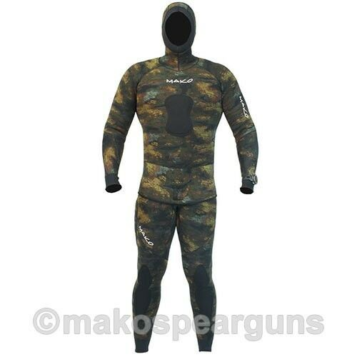 Spearfishing Wetsuit Reef  Camo 3mm Yamamoto 2-piece MAKO Spearguns  quality guaranteed