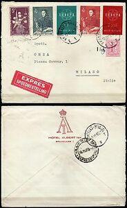 1763-Belgio-Busta-espresso-da-Bruxelles-a-Milano-17-11-1959