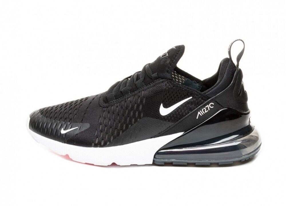 Schuhe Nike Air Max 270 Mann Frau Schwarz-Weiss Leinwand neu AH8050 002 Sport    | Fierce Kaufen