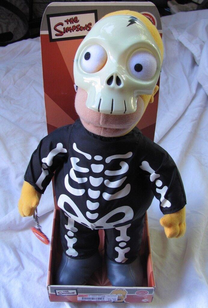 Simpson's Halloween Skelly Homer fuigure mint mint mint in box 1232e5