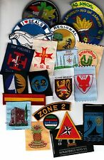 Boy Scout Badges OVERSEAS x 20 (B)