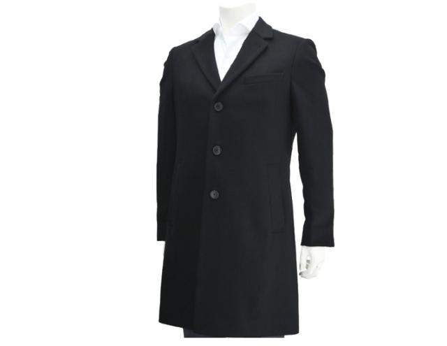 d599417bea HUGO BOSS black Nye1 wool & cashmere blend modern slim fitting Black Size  44R