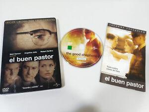 EL-BUEN-PASTOR-STEELBOOK-DVD-ANGELINA-JOLIE-MATT-DAMON-DE-NIRO-Espanol-Ingles-AM