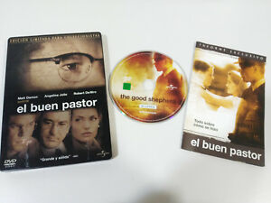 EL-BUEN-PASTOR-STEELBOOK-DVD-ANGELINA-JOLIE-MATT-DAMON-DE-NIRO-ESPANOL-ENGLISH-amp