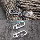 1 Pc Carabiner 3cm Aluminum Alloy Locking Clip Camping Snap Clip Hook Keychain