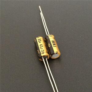 10pcs 47uF 16V  Nichicon FW 16V47uF High Grade HiFi Audio Capacitor 5x11mm
