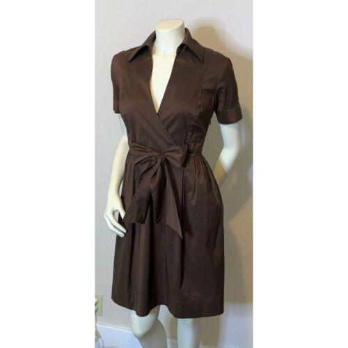 Diane Von Furstenberg Bundette Tie Front Wrap Dres