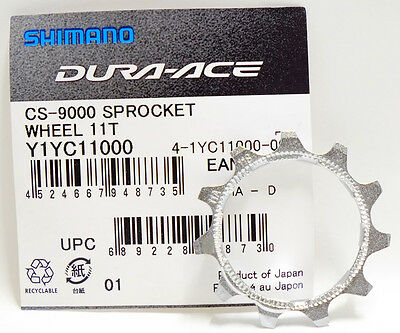 Shimano Dura-Ace CS-9000 11-Speed 13t 2nd position Cassette Cog