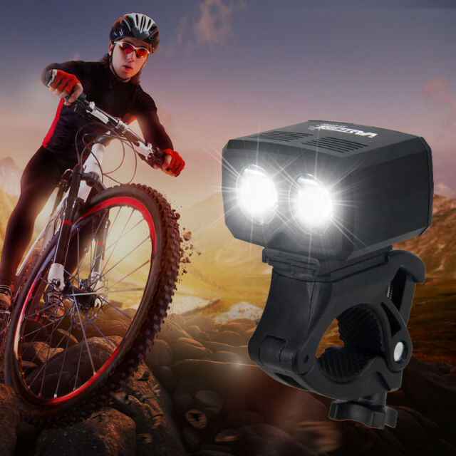 USB Rechargeable 360° Rotation Bicycle Head Lights /& Tail Lights Set with Mount