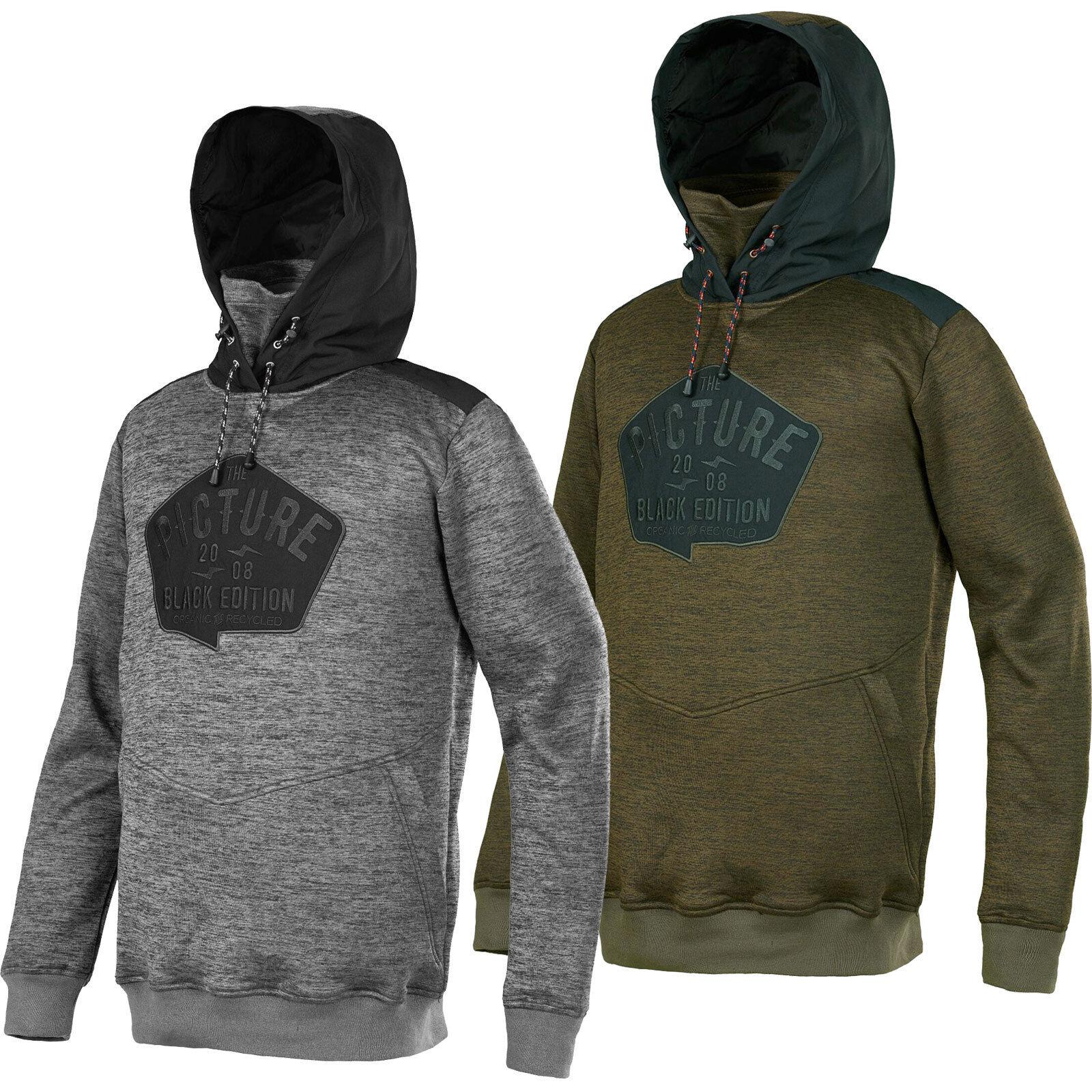 Picture Biggi Hoody Mens Hoodie Midlayer Hoodie Sweater Function New