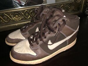 cheaper eb6d4 c51e1 Image is loading Nike-Dunk-High-Rare-Easter-Bunny-brown-pink-