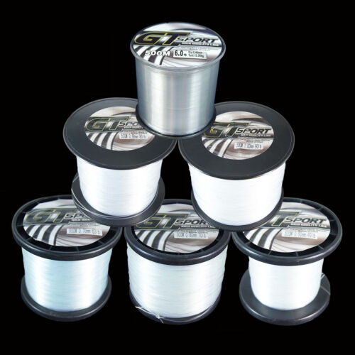 100//300M//500M Nylon Line Monofilament Clear Strong GT Sea Fishing Line Mono