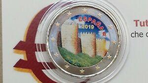 2 Euro 2019 Spagna Color Farbe Cor Couleur Espagne España Spain Spanien Ii Type Retarder La SéNilité