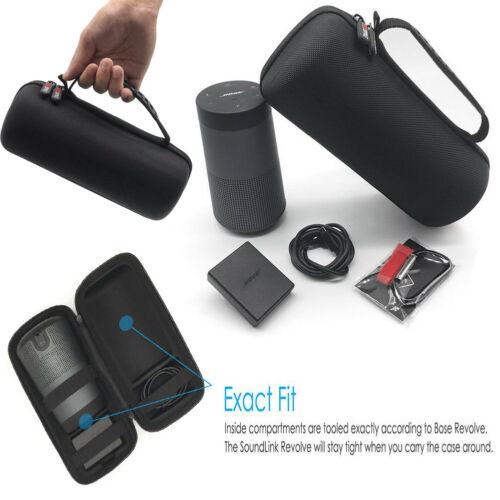 Case for Bose SoundLink Revolve Bluetooth Speaker Portable Travel Carrying Bag