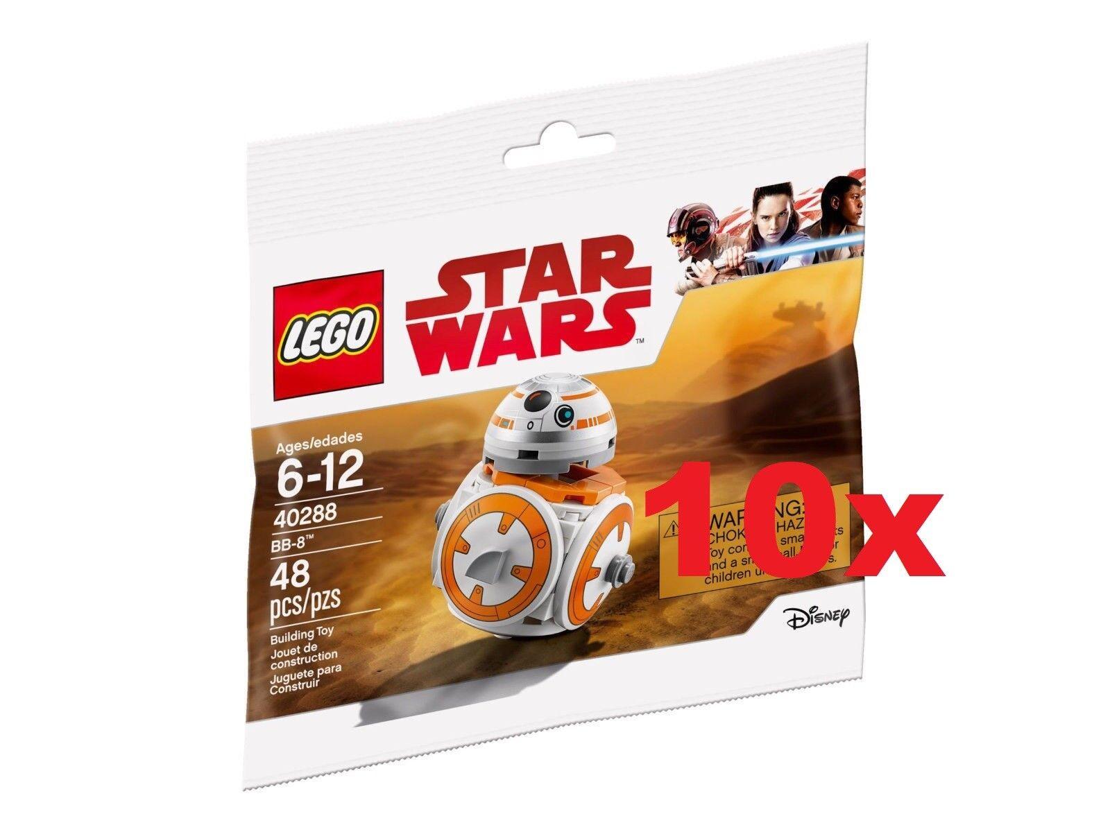 LEGO® 10x 40288  estrella guerras  POLYborsa  BB-8  - LIMITED     nuovo   FACTORY SEALED  grandi prezzi scontati