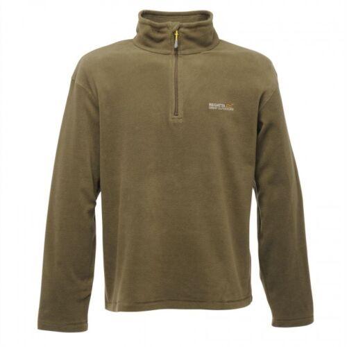 Para Hombres Regatta Thompson Half Zip Chaqueta Top Polar simetría 170 RMA021 RRP £ 20