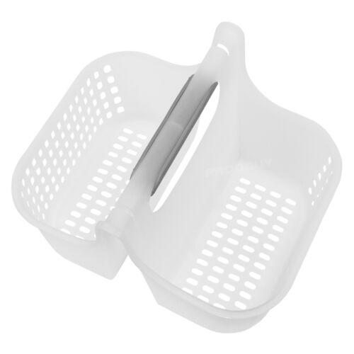 2 X Plastique Paniers de Rangement avec poignées Bureau Tidy Kitchen Sink EGOUTOIR