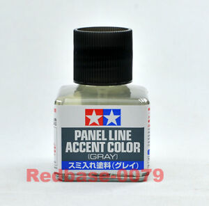 TAMIYA-87133-Panel-Line-Accent-Color-Gray-40ml-for-Plastic-Model-Lining