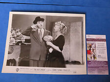 "DANNY THOMAS SIGNED 8x10 PROMO PHOTO  ""The Jazz Singer"" 53/56 ~ JSA CERT Q22811"