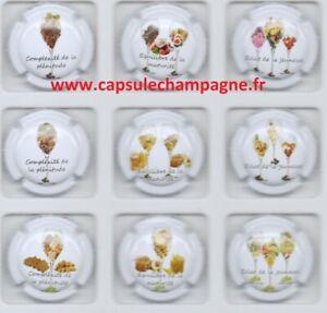 Capsules de champagne  Générique série  L'évolution des Arômes new