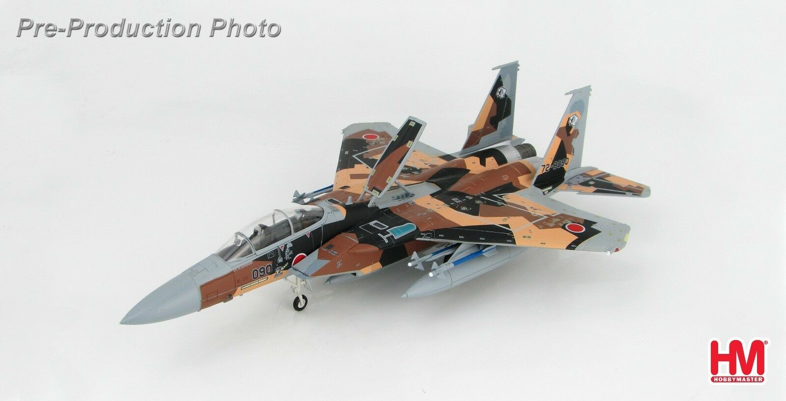 Hobby Master HA4513, McDonnell Douglas F-15DJ  AGRESSEUR , 72-8090, JASDF, 2010