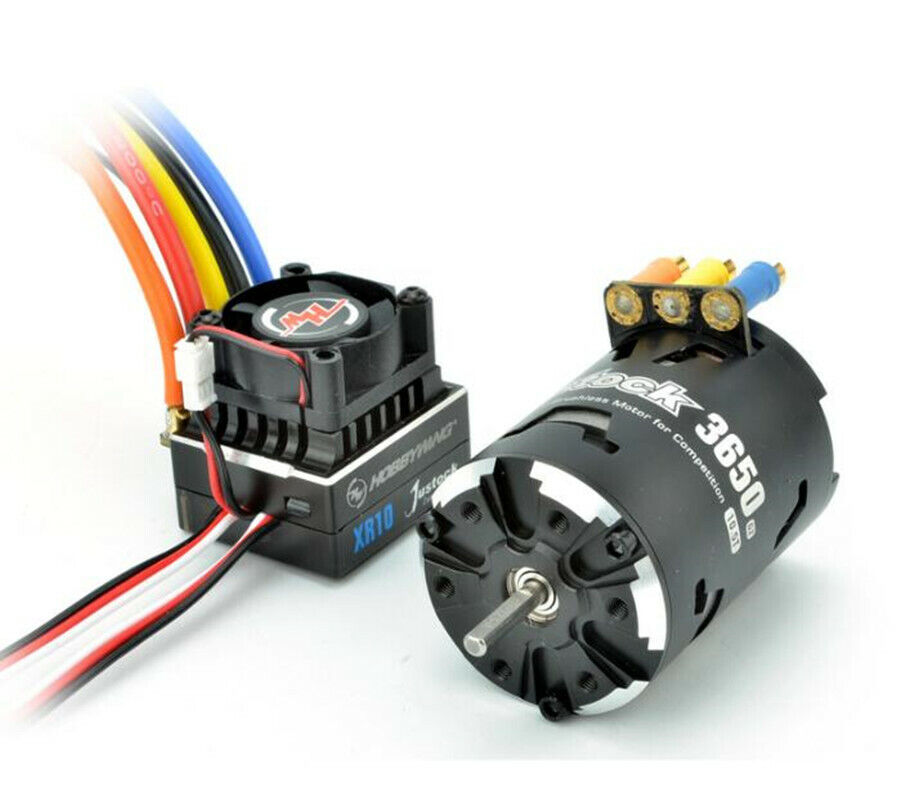 Hobbywing 38020402  Combo XR10 Js5 Sensorosso Brushless G2 3650 17.5T  omaggi allo stadio