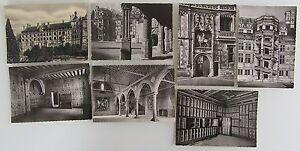 Frankreich-Lot-7-x-Schloss-Chateau-1950-60-BLOIS-Loir-et-Cher-AK-Ansichtskarten