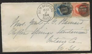 1882-New-Bedford-Mass-Cover-to-Wife-of-Civil-War-General-John-G-Barnard-NY