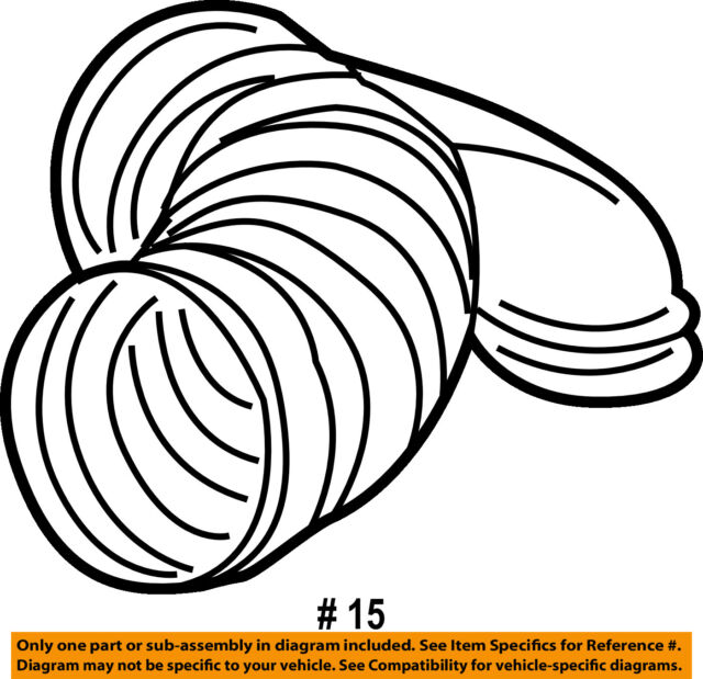 Porsche 911 997 Carrera S 3 8 Throttle Body Upper Air Intake Hose