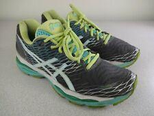 Asics WMNS Gel-Nimbus 18 Running Shoes Titanium//Turquoise T650N.9701 Sz 6