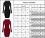 Women-Casual-Midi-Dress-Long-Sleeve-Hoodie-Hooded-Jumper-Pullover-Sweater-Tops thumbnail 3