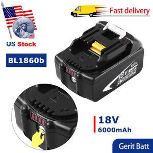 Replace-for-Makita-BL1860B-Lithium-ion-Battery-18V-6-0Ah-BL1830B-BL1840B-BL1850B