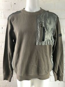 Rockport-Men-s-Jumper-Size-XL-Khaki-Green-Vintage-Sweater