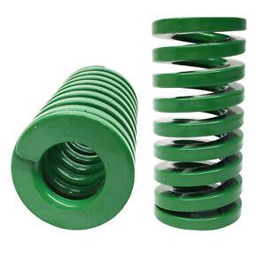 65Mn Steel OD 12mm /& ID 6mm Green Compression Die Mould Spring Heavy Load 422N