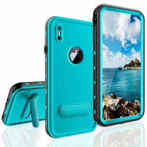 For Apple iPhone XR XS Max Case Waterproof Shockproof Dirtproof Snowproof Cover