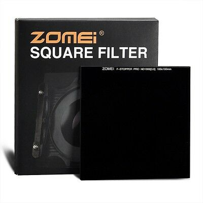 Zomei Optical Glass100mm*100mm 10-stop ND3.0 1000x Neutral Density Square filter